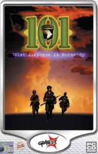 101st Airborne in Normandy Box Art