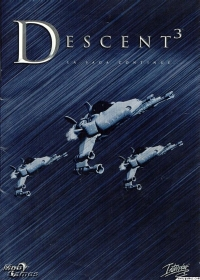 Descent 3 Box Art