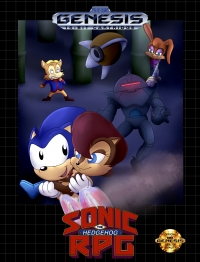 Sonic the Hedgehog RPG Box Art