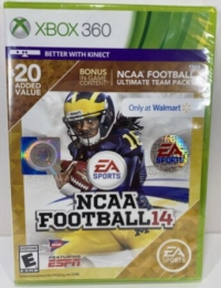 NCAA Football 14 (Only at Walmart) Box Art