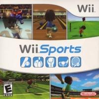 Wii Sports (62022B) Box Art