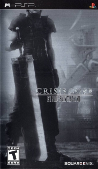 Crisis Core: Final Fantasy VII (Metallic Foil Cover) Box Art