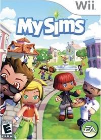 MySims Box Art