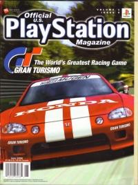 Official U.S. Playstation Magazine Volume 1 Issue 9 Box Art