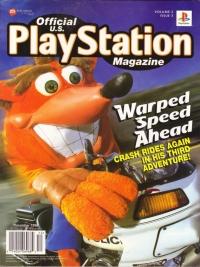 Official U.S. Playstation Magazine Volume 2 Issue 3 Box Art