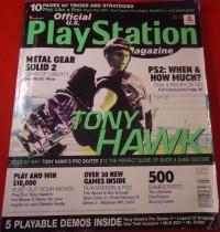 Official U.S. Playstation Magazine Volume 3 Issue 10 Box Art