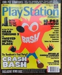 Official U.S. Playstation Magazine - December 2000 - Issue 39 Box Art