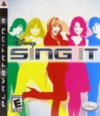 Disney Sing It Box Art