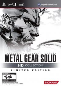 Metal Gear Solid HD Collection - Limited Edition Box Art