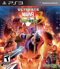 Ultimate Marvel vs. Capcom 3 Box Art