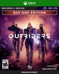 Outriders - Day One Edition Box Art
