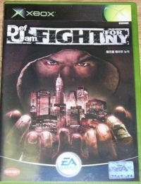 Def Jam Fight For NY: The Takeover Box Art