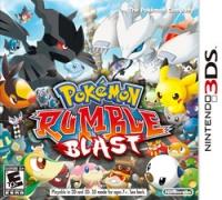 Pokémon Rumble Blast Box Art