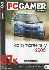 Colin McRae Rally 2005 - PC Gamer Presents Box Art