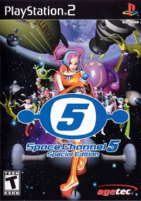 Space Channel 5 - Special Edition Box Art