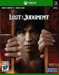 Lost Judgment Box Art