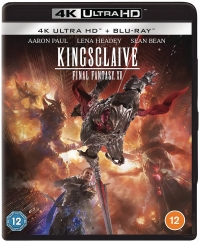 Kingsglaive: Final Fantasy XV (UHD/BD) [UK] Box Art