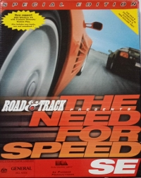 Road & Track Presents: The Need for Speed SE Box Art