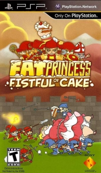 Fat Princess: Fistful of Cake Box Art