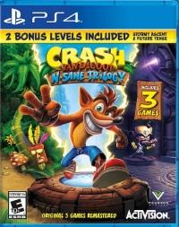 Crash Bandicoot N.Sane Trilogy (2 Bonus Levels Included) Box Art