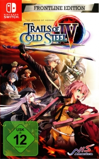 Legend of Heroes, The: Trails of Cold Steel IV - Frontline Edition [DE] Box Art