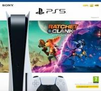 Sony PlayStation 5 CFI-1016A - Ratchet & Clank: Rift Apart [EU] Box Art
