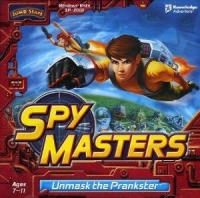 JumpStart SpyMasters: Unmask the Prankster Box Art