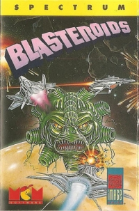 Blasteroids (SEC 554) Box Art