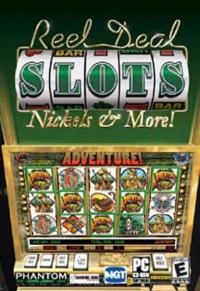 Reel Deal Slots: Nickels & More! Box Art