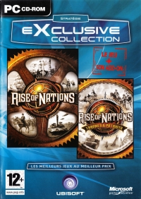 Rise of Nations - Gold Edition (Ubisoft Exclusive) [FR] Box Art