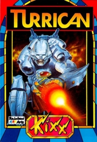 Turrican - Kixx Box Art