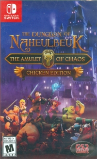 Dungeon of Naheulbeuk, The: The Amulet of Chaos - Chicken Edition Box Art