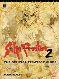 SaGa Frontier 2: The Official Strategy Guide Box Art