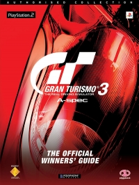 Gran Turismo 3: A-Spec: The Official Winners' Guide Box Art