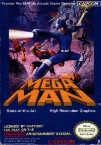 Mega Man Box Art