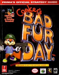 Conker's Bad Fur Day - Prima's Official Strategy Guide Box Art
