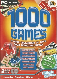 1000 Games Collection Box Art