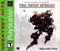 Final Fantasy Anthology - Greatest Hits Box Art