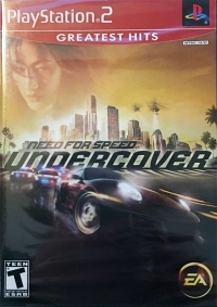 Need for Speed: Undercover - Greatest Hits Box Art