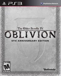 Elder Scrolls IV, The: Oblivion - 5th Anniversary Edition Box Art
