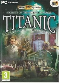 Hidden Mysteries: Titanic: Secrets of the Fateful Voyage Box Art