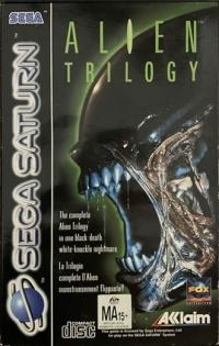 Alien Trilogy Box Art
