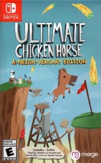 Ultimate Chicken Horse - A-Neigh-Versary Edition Box Art