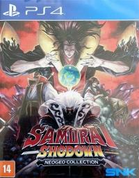 Samurai Shodown NeoGeo Collection Box Art