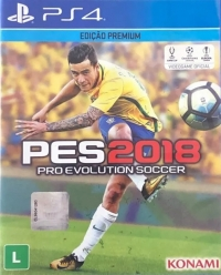 Pro Evolution Soccer 2018 - Edição Premium Box Art