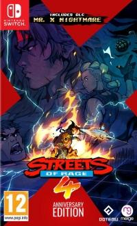 Streets of Rage 4 - Anniversary Edition Box Art