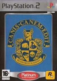 Canis Canem Edit - Platinum Box Art