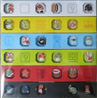 2011 Club Nintendo Platinum Member Reward - Super Mario Button Collection Box Art