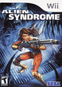 Alien Syndrome Box Art