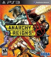 Anarchy Reigns Box Art
